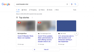 Photo of Top stories images aren't showing in Google Search